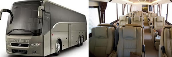 Marangu Luxury shuttles bus