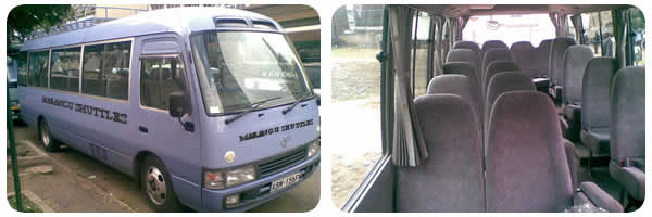 Marangu luxury shuttles airport shuttle bus transfer