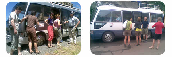 Nairobi Arusha Moshi Private Shuttle Bus Services